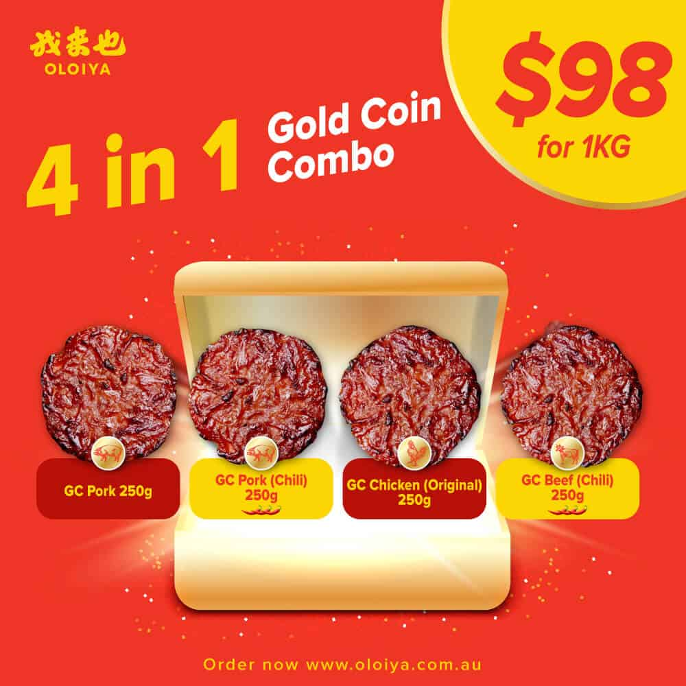 4 in 1 Gold Coin Combo (1KG)