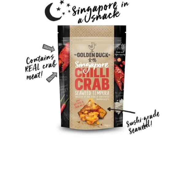 Singapore Chilli Crab Seaweed Tempura